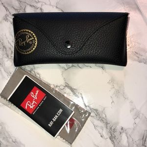 Authentic Ray-Ban Leather Case